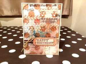 Birthday card, patouille